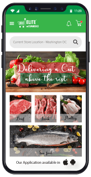 meat delivery app optimization